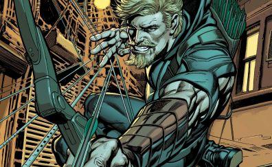 Green arrow, superhero, comics