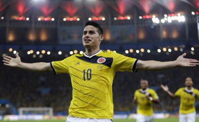 Football player, James Rodriguez, soccer