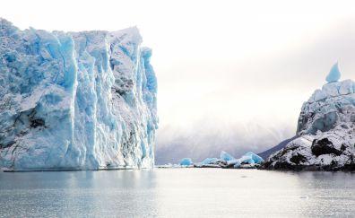 Iceberg of glacier