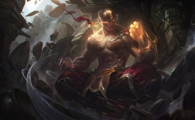 Lee sin, league of legends, video game