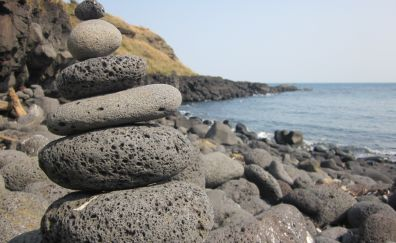 Granite stone tower