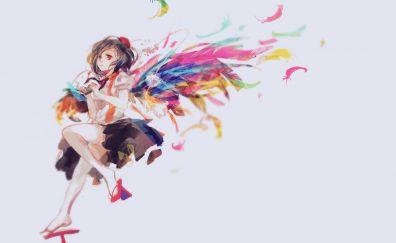 Shameimaru aya anime girl