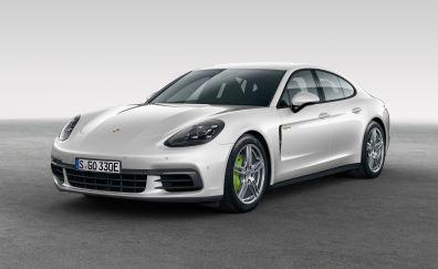 2017  Porsche Panamera 4 e-hybrid white car