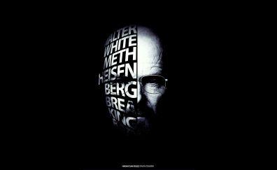 Breaking bad tv series, Bryan Cranston, typography