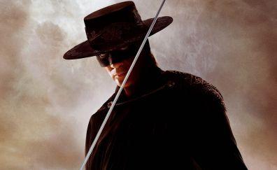 The legend of zoro, Antonio Banderas, actor, mask, sword