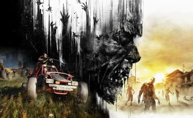 Dying Light: The Following, video game, zombie