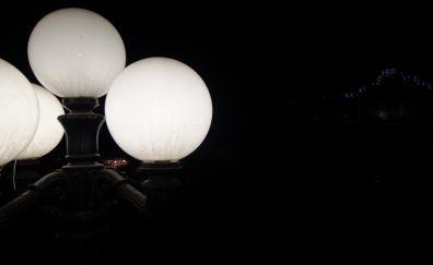 Street lights, lamp, night