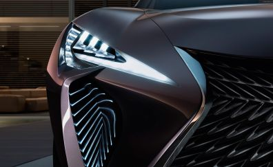 The Lexus UX Concept car head light