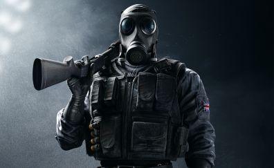 Tom clancy's rainbow six siege video game, sas smoke