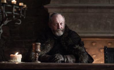 Davos Seaworth, game of thrones, season 7, TV series, Liam Cunningham