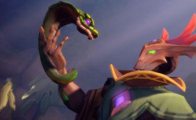 Paladins video game, snake