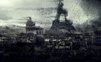 Paris City, The day the earth stood still movie