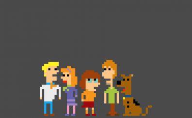 Scooby Doo, pixel art