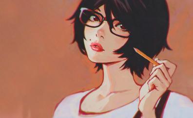 Zankyou no terro anime, anime girl