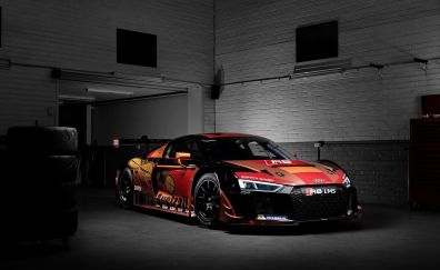 Audi R8 LMS race car, gt3 car