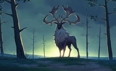 Reindeer, Deer, Northgard video game