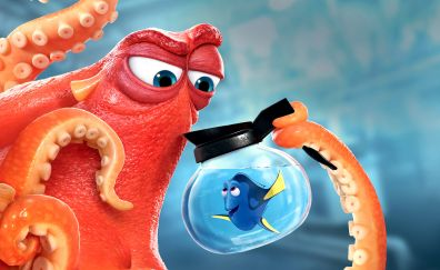 Finding dory animated movie, fish, octopus