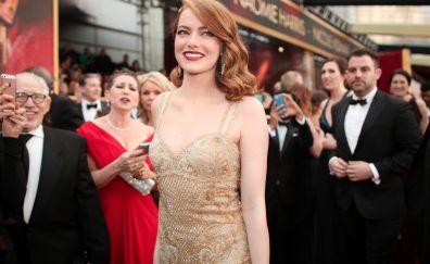 Emma Stone, Red Carpet, Oscars 2017