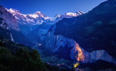 Switzerland landscape nature