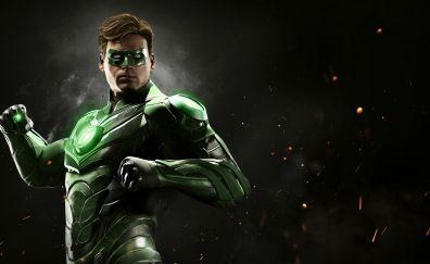 Green Lantern, Injustice 2 video game, superhero, dc comics