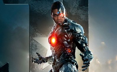 Cyborg, Justice League, 2017 movie, Ray Fisher, superhero