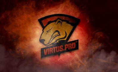 Virtus Pro, logo, artwork