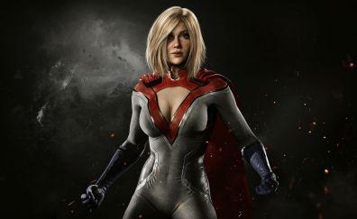 Power girl, injustice 2, dark, video game
