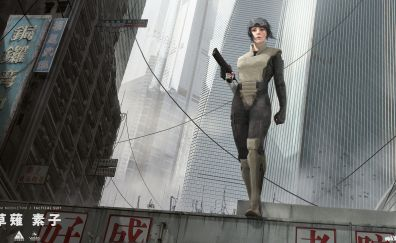 Ghost in the shell, movie, art