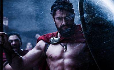 300 movie, spartan, Gerard Butler, actor