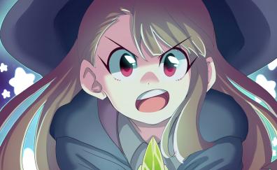 Angry anime girl, atsuko kagari