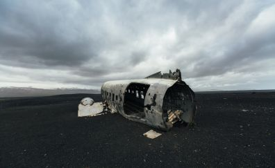 Wreck of plane