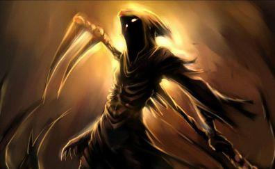 Reaper, grim reaper, artwork