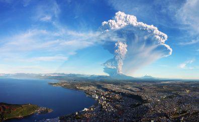 Calbuco volcano eruption, Chile