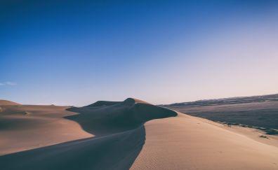 Desert dunes, skyline, nature