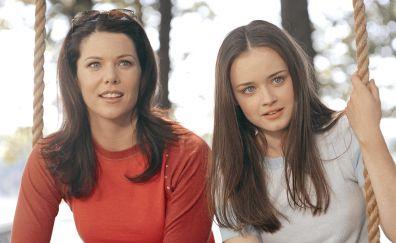Gilmore Girls, TV show, Alexis Bledel, Lauren Graham