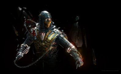 Scorpion, Mortal Kombat, artwork