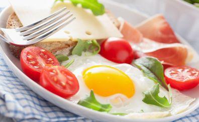 Vegetables salad food dish