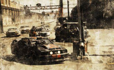 Death race movie, custom race cars