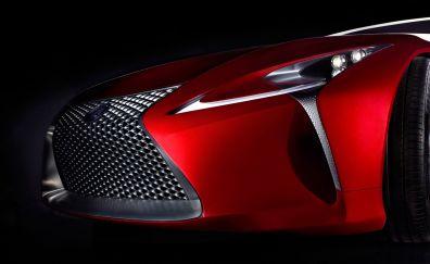 Lexus LF-LC concept car, front view