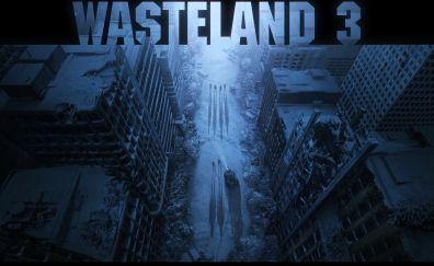 Wasteland 3, video game, game, 5k
