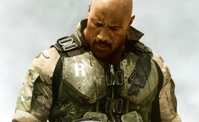 G.I. Joe: Retaliation, 2013 movie, rock, Dwayne Johnson