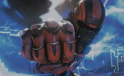 Mass Effect: Andromeda, fist, video game