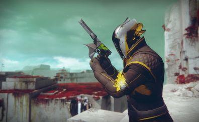 Destiny 2: The Dawnblade Warlock, video game, soldier