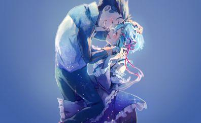 Subaru, Natsuki Subaru, Rem, Re:Zero, anime couple