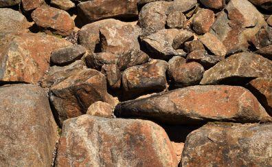 Stone wall, rocks