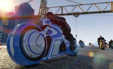 GTA game's online biker