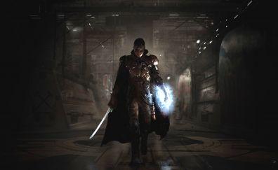 The Technomancer, video game, warrior