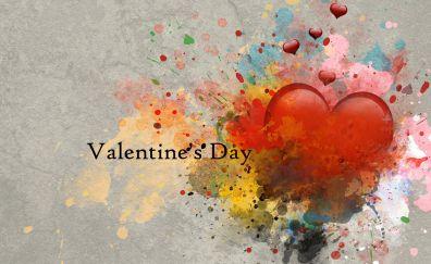 Valentines day, heart, artwork