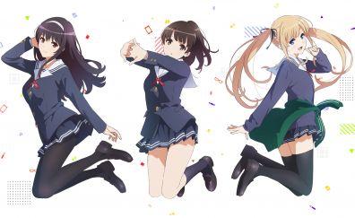 Eriri Spencer Sawamura, Megumi Kato, Utaha Kasumigaoka, Saenai Heroine no Sodatekata, anime girls