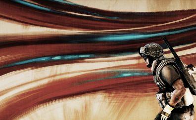 Battlefield 3, soldier, 4k, 8k, artwork